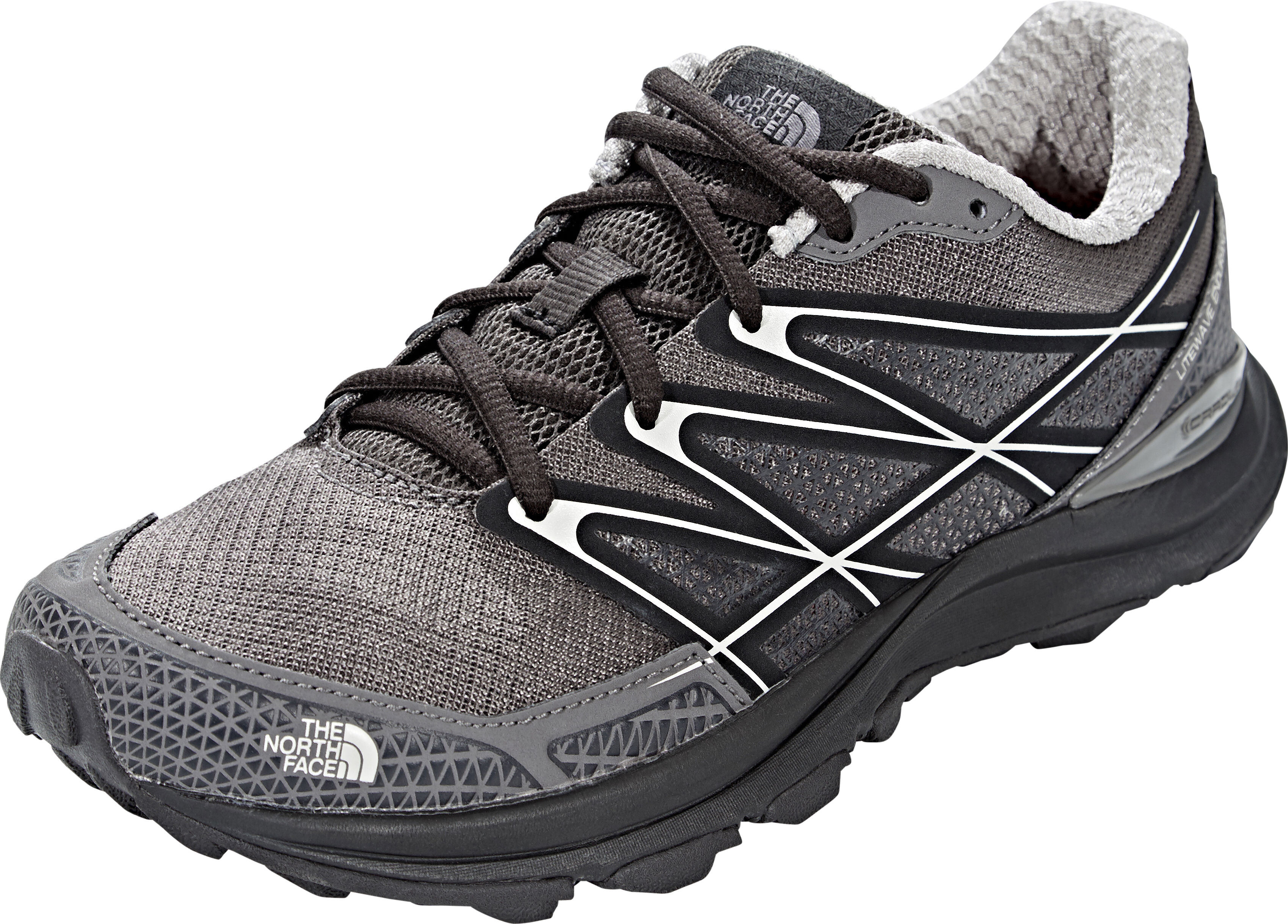 factory price ed3ac e510a The North Face Litewave Endurance Running Trail Shoes Women dark gull  grey/foil grey